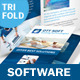 IT and Software Trifold Brochure - GraphicRiver Item for Sale