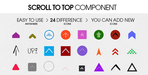 CodeCanyon Scroll To Top Component 8232781