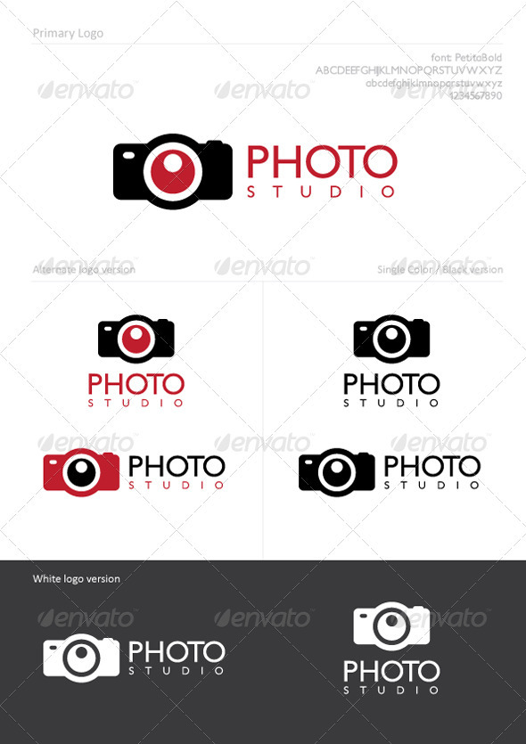 Photo Studio - Symbols Logo Templates