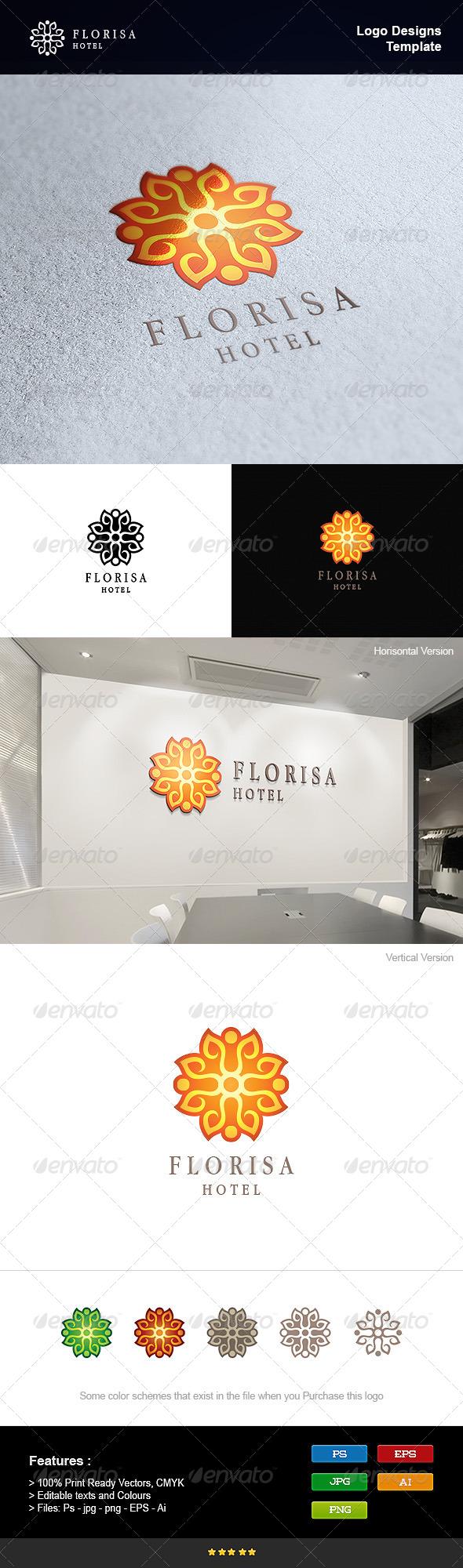 GraphicRiver Florist Hotel 8232804