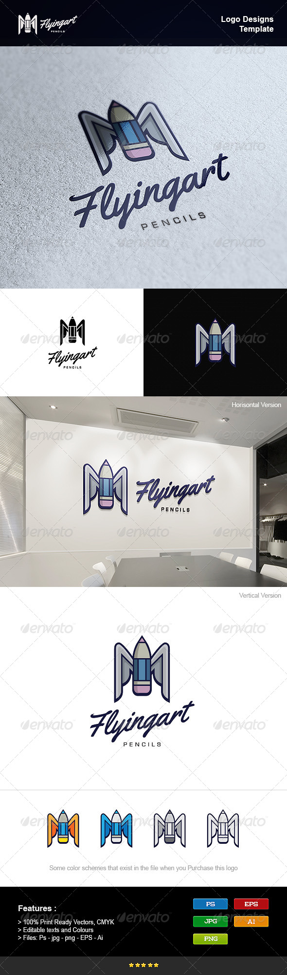GraphicRiver Flying Art 8232854