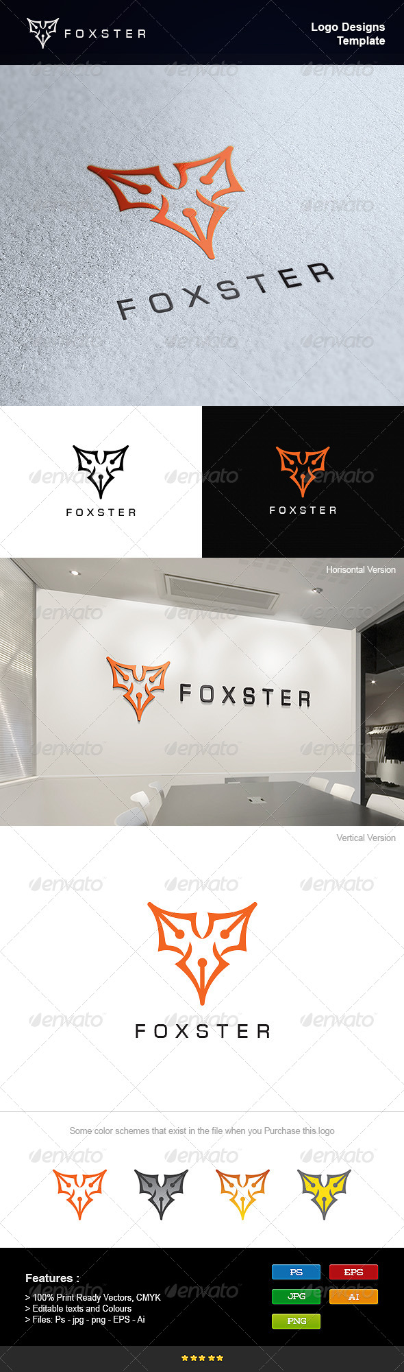 GraphicRiver Fox Writer 8232864
