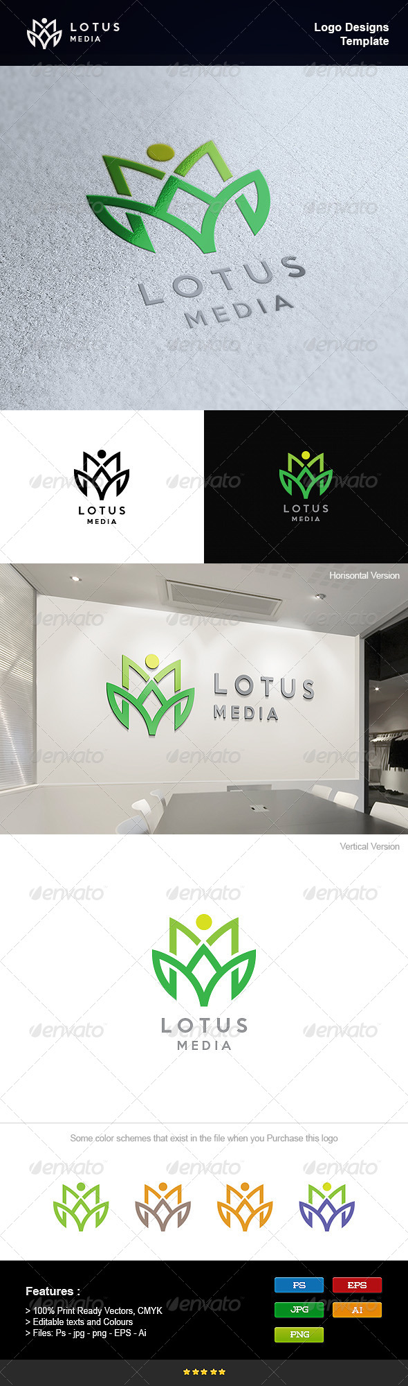 GraphicRiver Lotus Spa 8232873