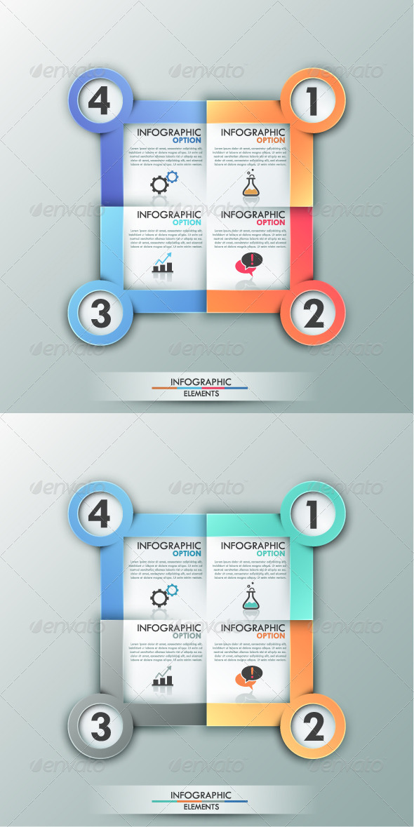 GraphicRiver Modern Infographics Options Banner 2 Versions 8232898