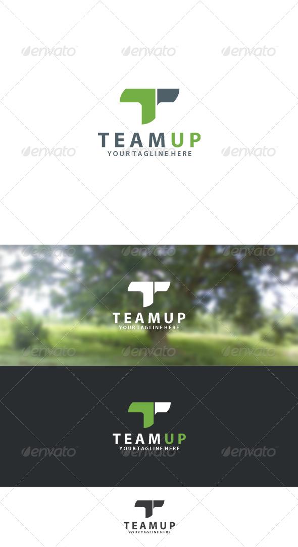 GraphicRiver Team Up Logo 8232986