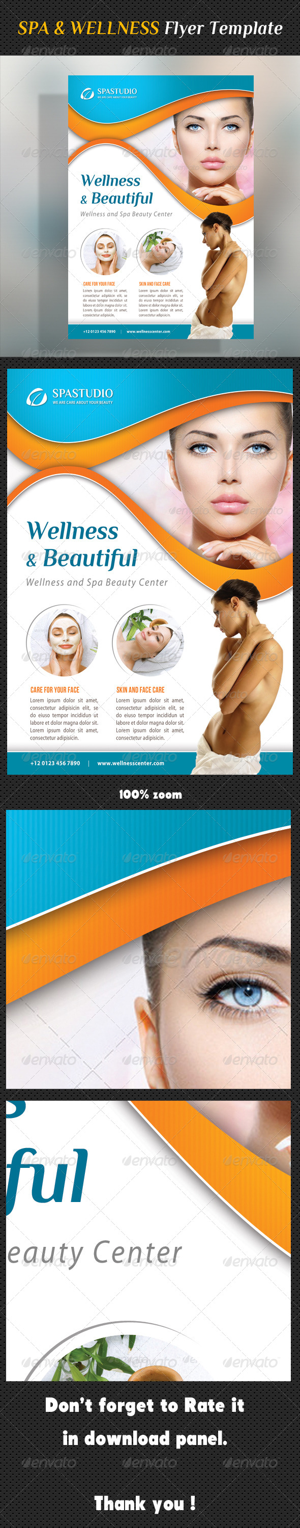 Spa Studio Flyer 27 - Corporate Flyers
