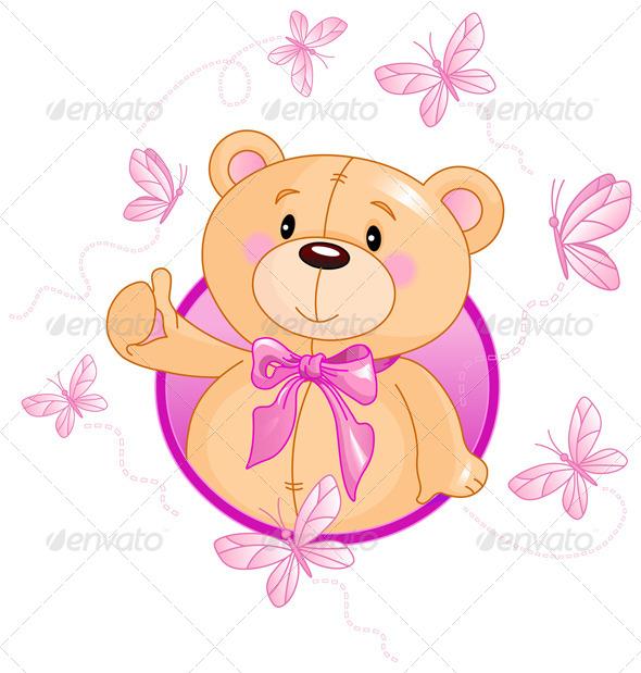 GraphicRiver Teddy Bear 8233502