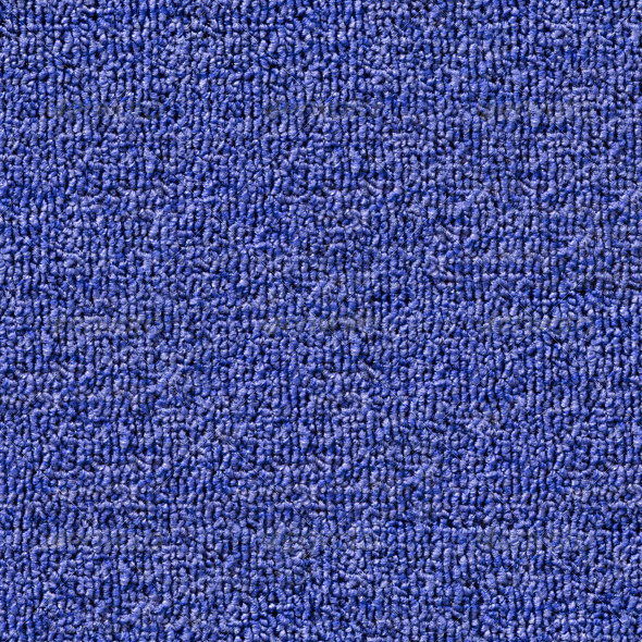 Seamless Blue Carpet Texture Tile