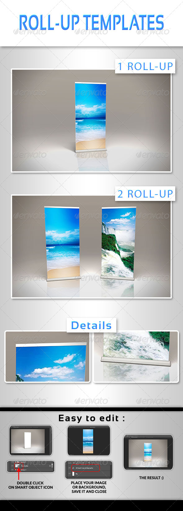 GraphicRiver Roll-up Template 8233800