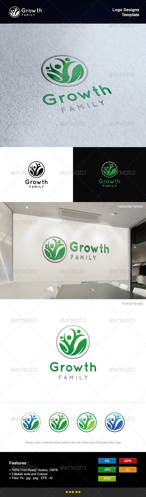 GraphicRiver Family Growth 8233803