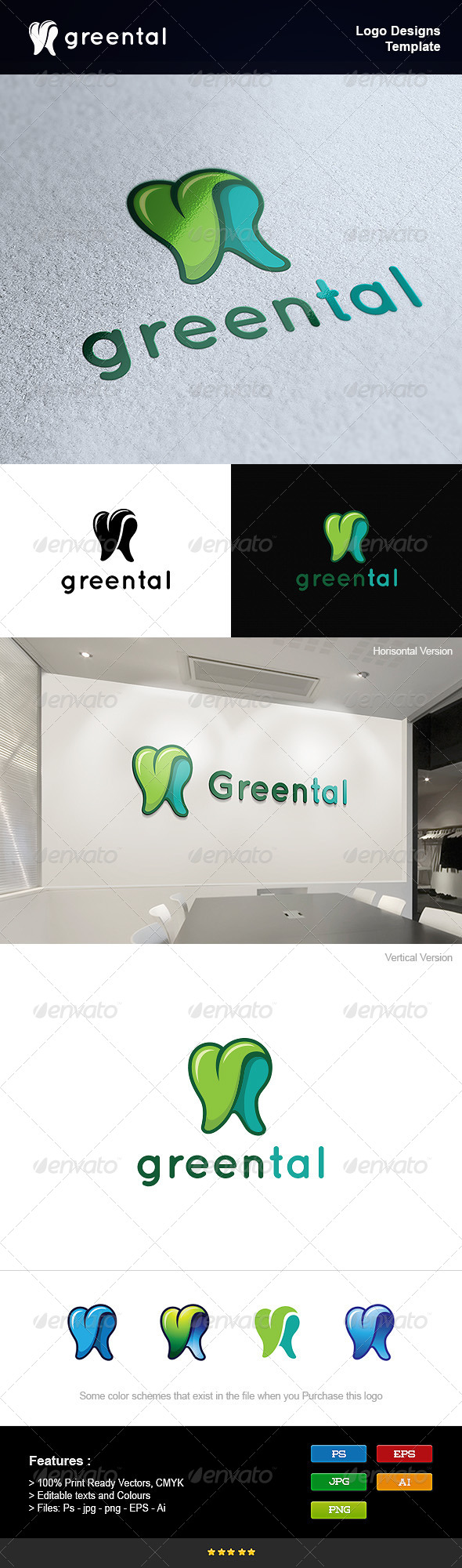 GraphicRiver Green Dental 8233878
