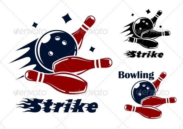 GraphicRiver Bowling Icons 8234097