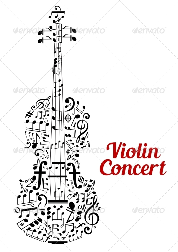 GraphicRiver Violin Concert Poster Design 8234105