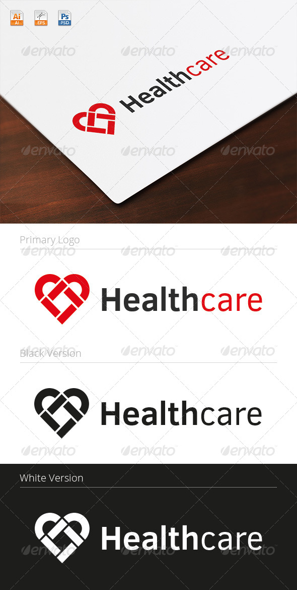 GraphicRiver Healthcare Logo 8234147