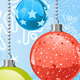 Christmas Snowflakes and Balls - GraphicRiver Item for Sale