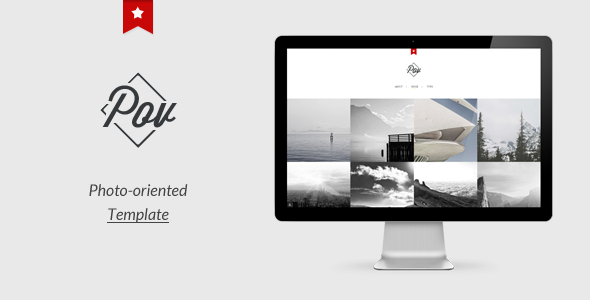 Point Of View: Photo Oriented Template