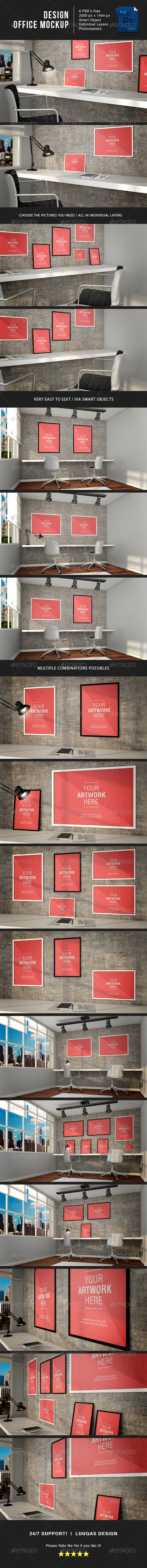 GraphicRiver Design Office MockUp 8234320