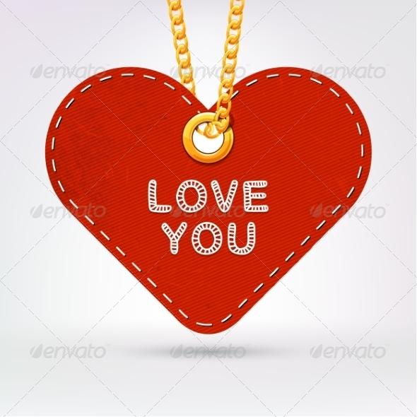 GraphicRiver Heart Label 8234391