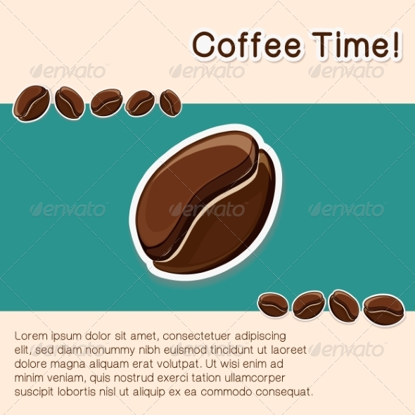 GraphicRiver Coffee Concept Background 8234421