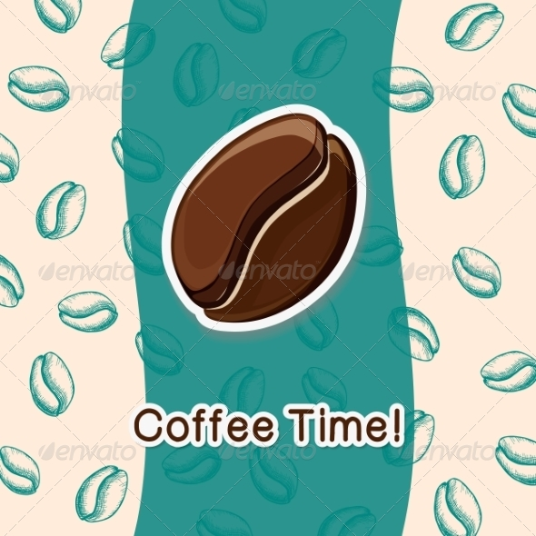GraphicRiver Coffee Concept Background 8234441