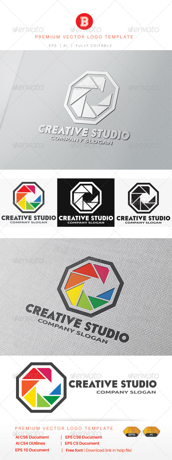 GraphicRiver Creative Studio 8234506