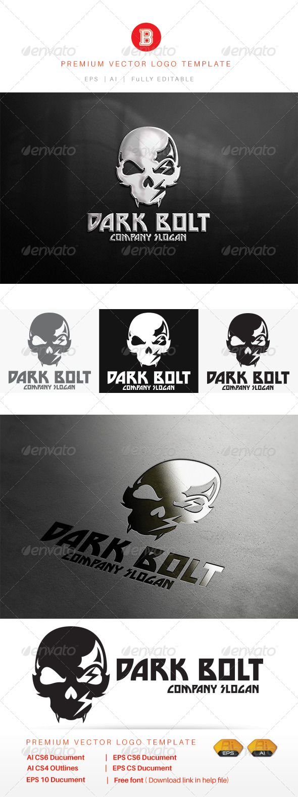 GraphicRiver Dark Bolt 8234507