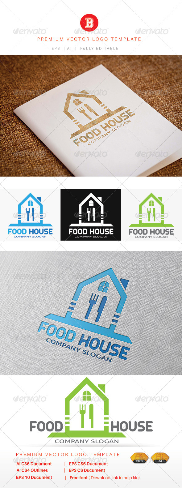 GraphicRiver Food House 8234510