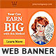 Earn Big Web Banner Design - GraphicRiver Item for Sale