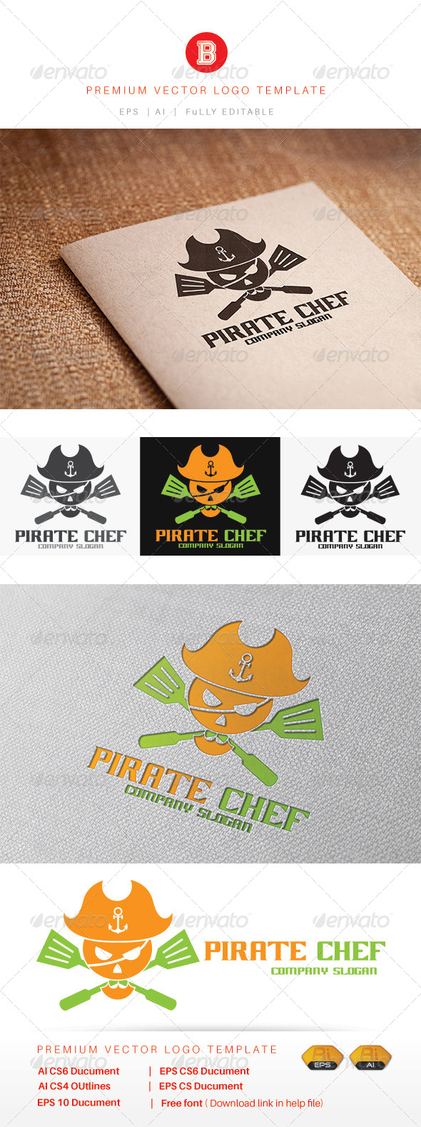 GraphicRiver Pirate Chef 8234530