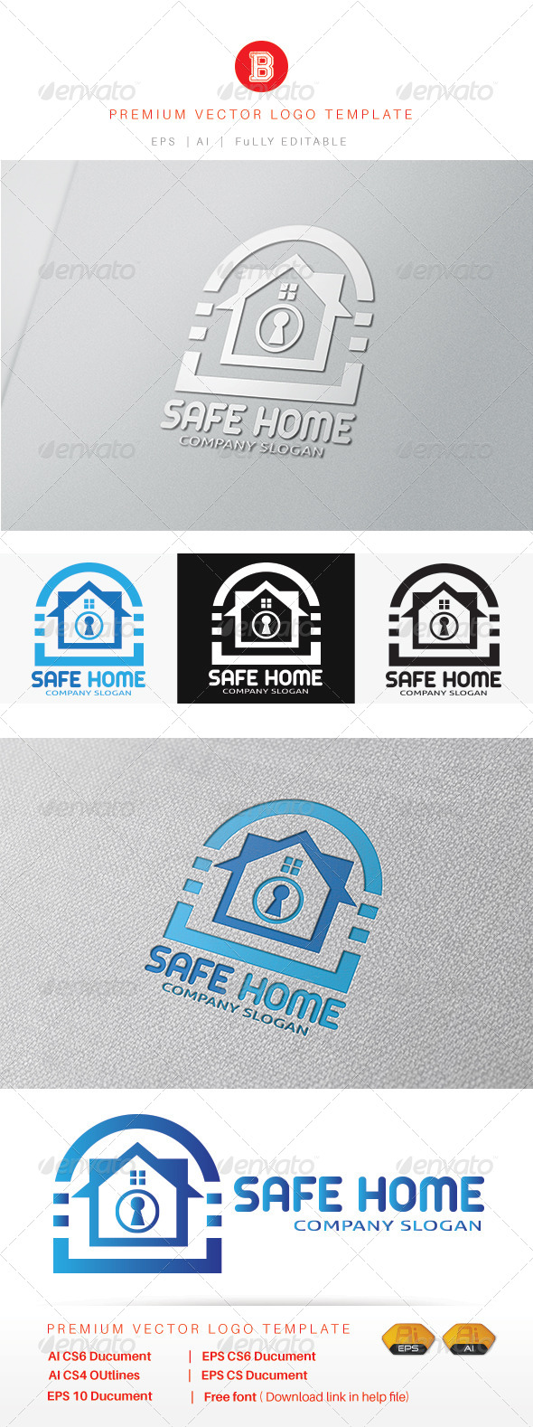 GraphicRiver Safe Home 8234531
