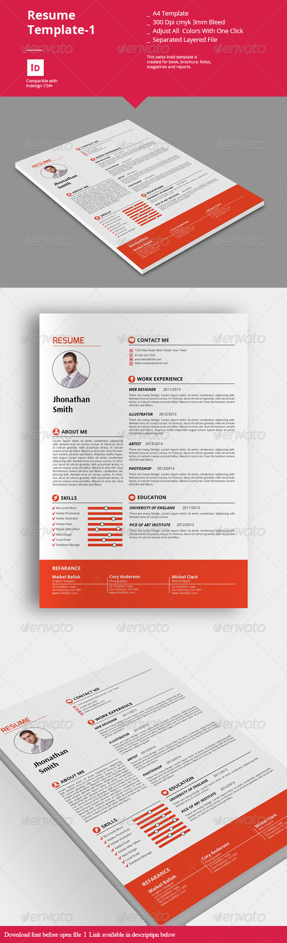 GraphicRiver Resume Templates-1 8234576