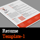 Resume Templates-1 - GraphicRiver Item for Sale