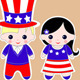 Fourth of July Children   - GraphicRiver Item for Sale