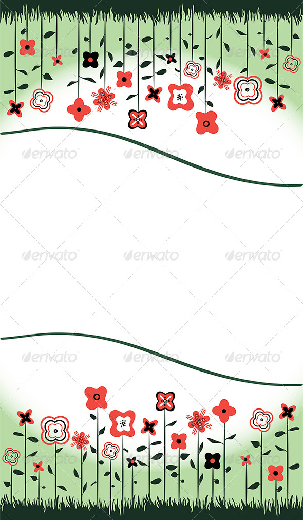 GraphicRiver Floral Background 8234726