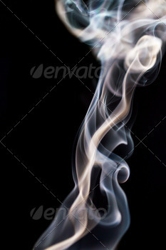 smoke on black background - PhotoDune Item for Sale