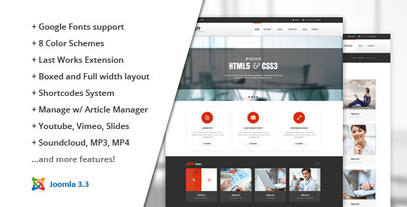 ThemeForest Stability Responsive Joomla Template 8236518