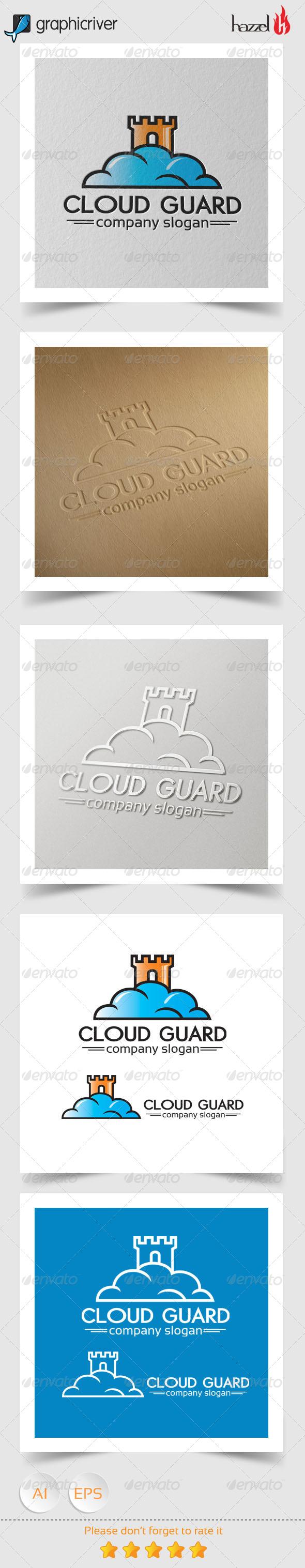 GraphicRiver Cloud Guard Logo 8237698