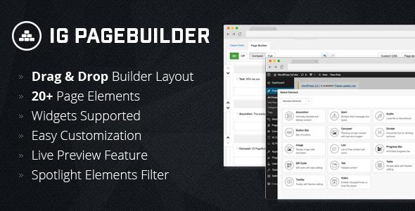 CodeCanyon IG PageBuilder 8101848