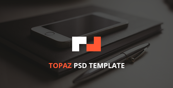 ThemeForest Topaz PSD Template 8009010