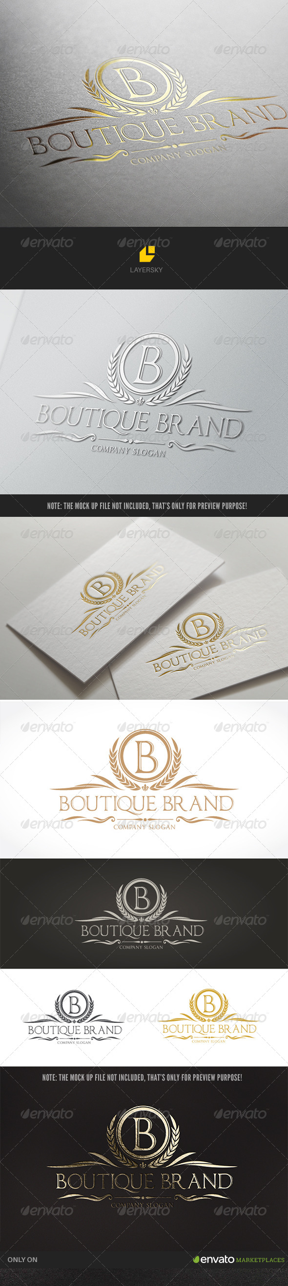 GraphicRiver Boutique Brand 8238077