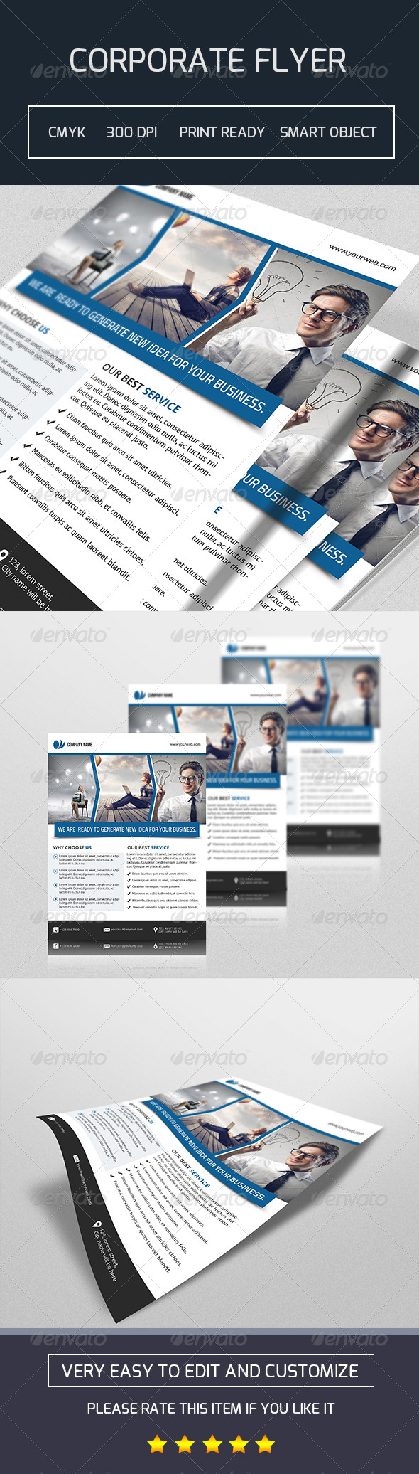 GraphicRiver Business Flyer Template-V80 8238176