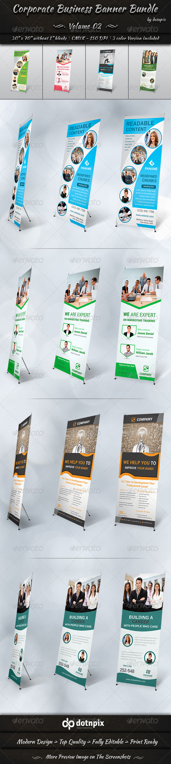 GraphicRiver Corporate Business Banner Bundle Volume 2 8238333