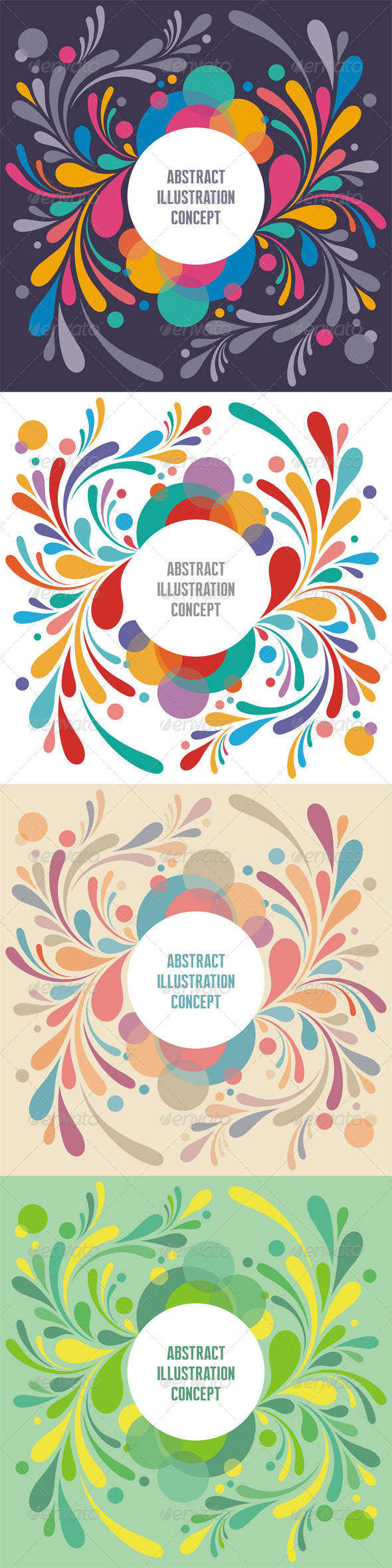 GraphicRiver Abstract Background Text Frame 8204429