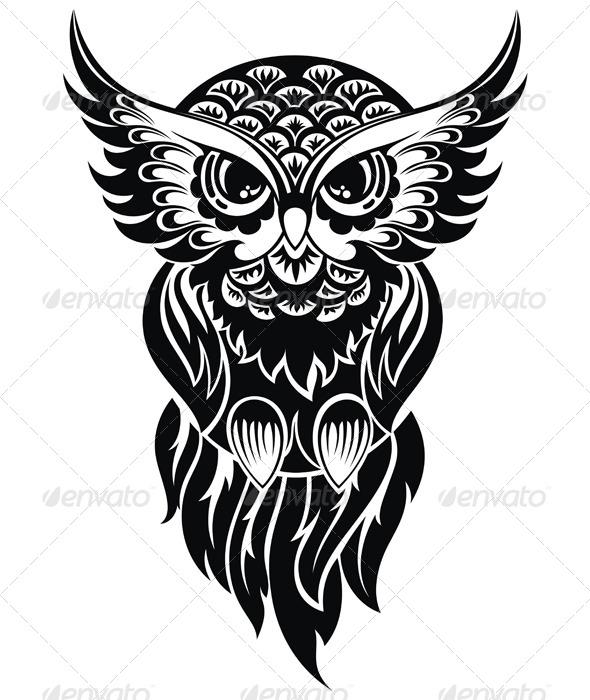 GraphicRiver Owl 8238428