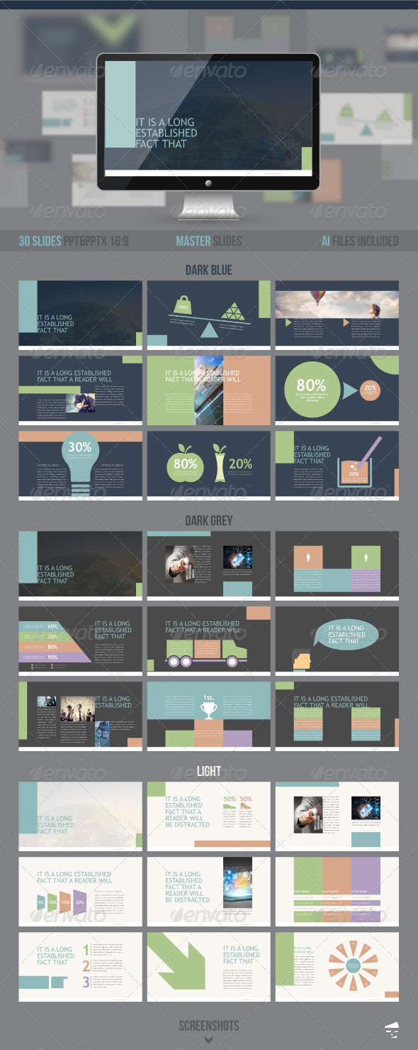 GraphicRiver Creative Presentation 8238437