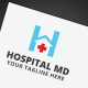 Hospital MD Logo - GraphicRiver Item for Sale
