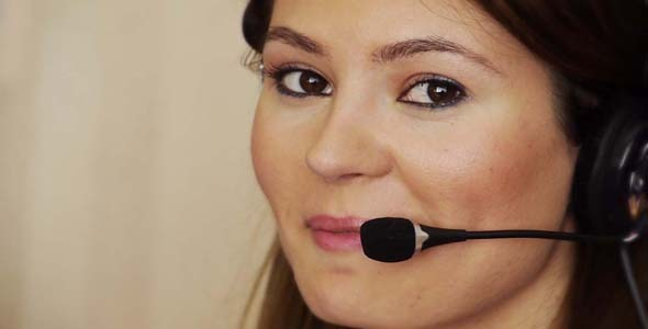 Young Female Call Centre Agent 1