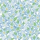 Blue Flowers with Green Leafs - GraphicRiver Item for Sale