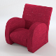 Armchair nr.1 (textured, 5 uv-mapped maps) - 3DOcean Item for Sale