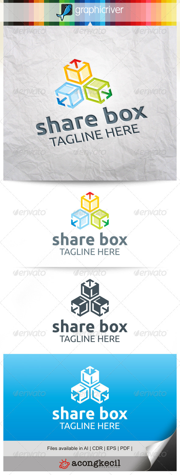 GraphicRiver Box Share V.3 8239222